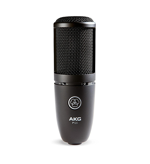 akg p120 large diaphragm condenser microphone nxt level tech audio lighting and home. Black Bedroom Furniture Sets. Home Design Ideas