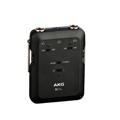 AKG B23 L Battery-operated phantom power supply & mini recording mixer
