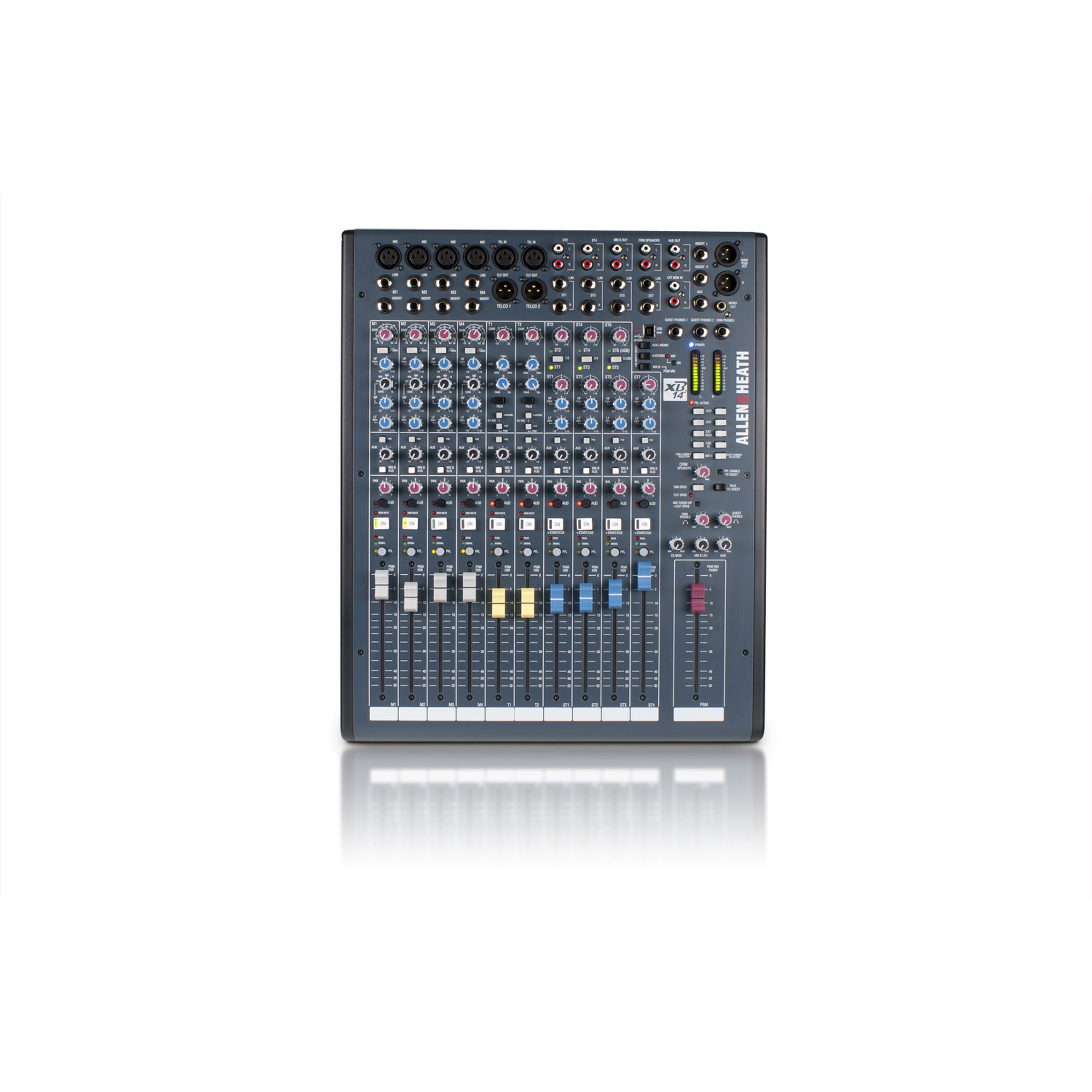 Allen & Heath XB2-14 2 Compact Radio Broadcast Mixer