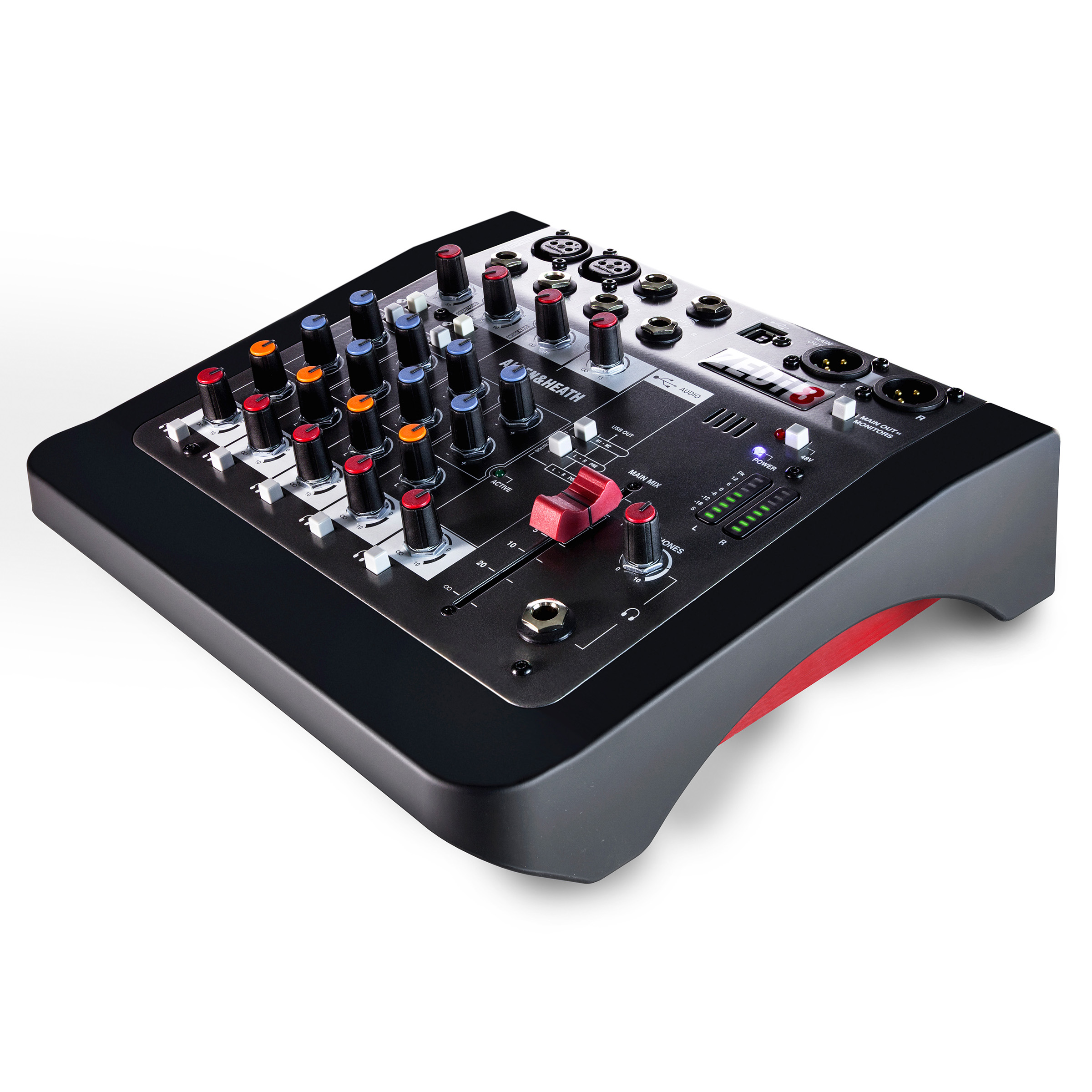 Allen & Heath ZEDi-8 Hybrid Compact Mixer/USB Interface