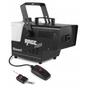 BeamZ RAGE 1000 SMOKE MACHINE WITH WIRELESS CONTROLLER