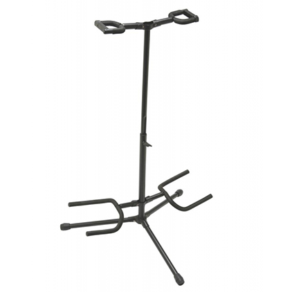 On-Stage GS7221BD Deluxe Folding Double Guitar Stand
