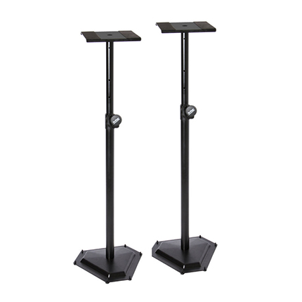 On-Stage SMS6600-P Hex-Base Monitor Stands
