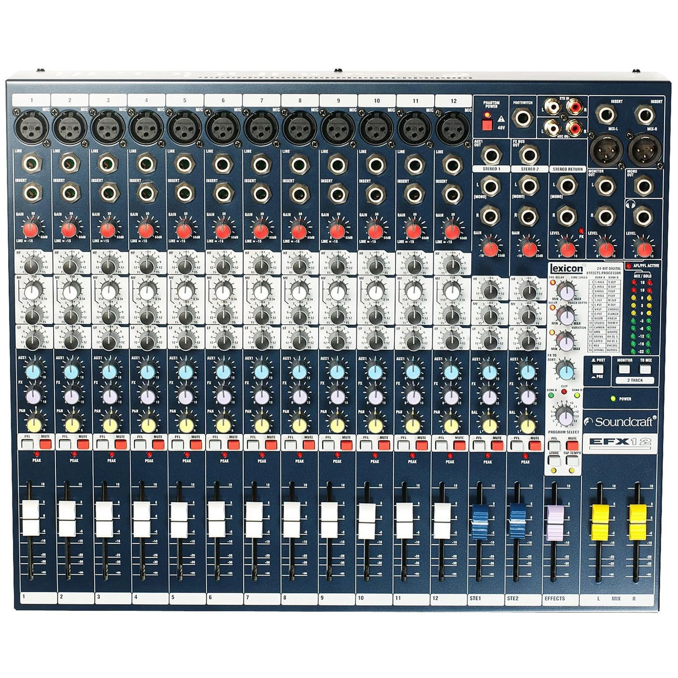 Soundcraft EFX12 Mixer with Effects