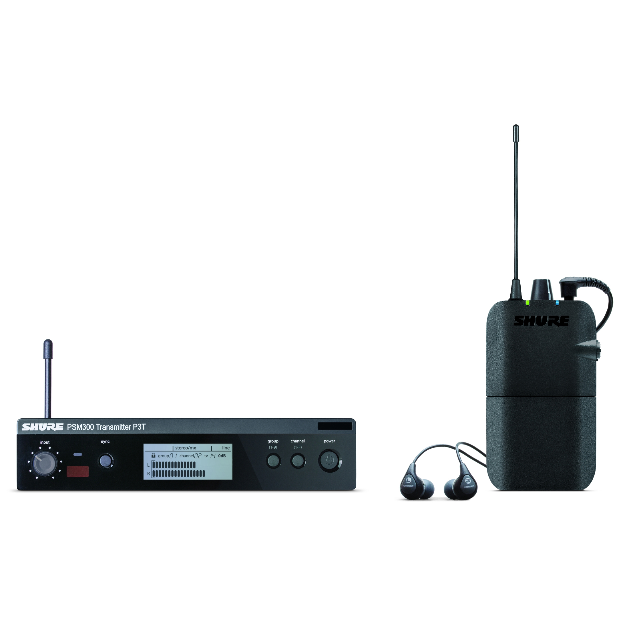 Shure PSM 300 Wireless In-Ear Monitoring Set with SE112 Earphones