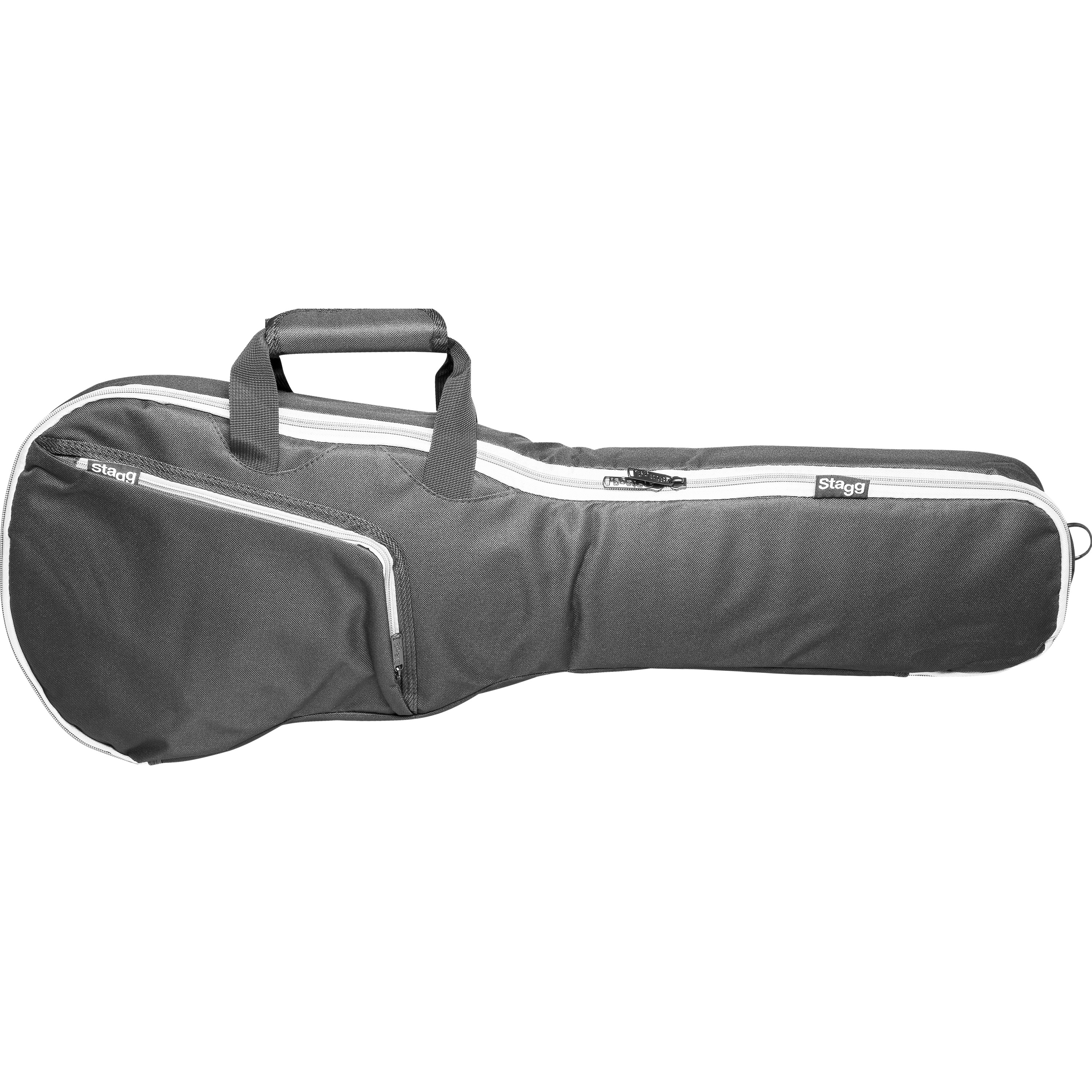 Stagg STB10 C Basic series padded water repellent nylon bag for 4/4 classical guitar